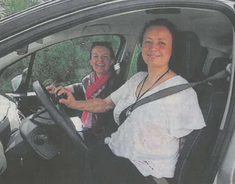 L'autonomie passe aussi par la conduite - Ouest-France 9/06/2015