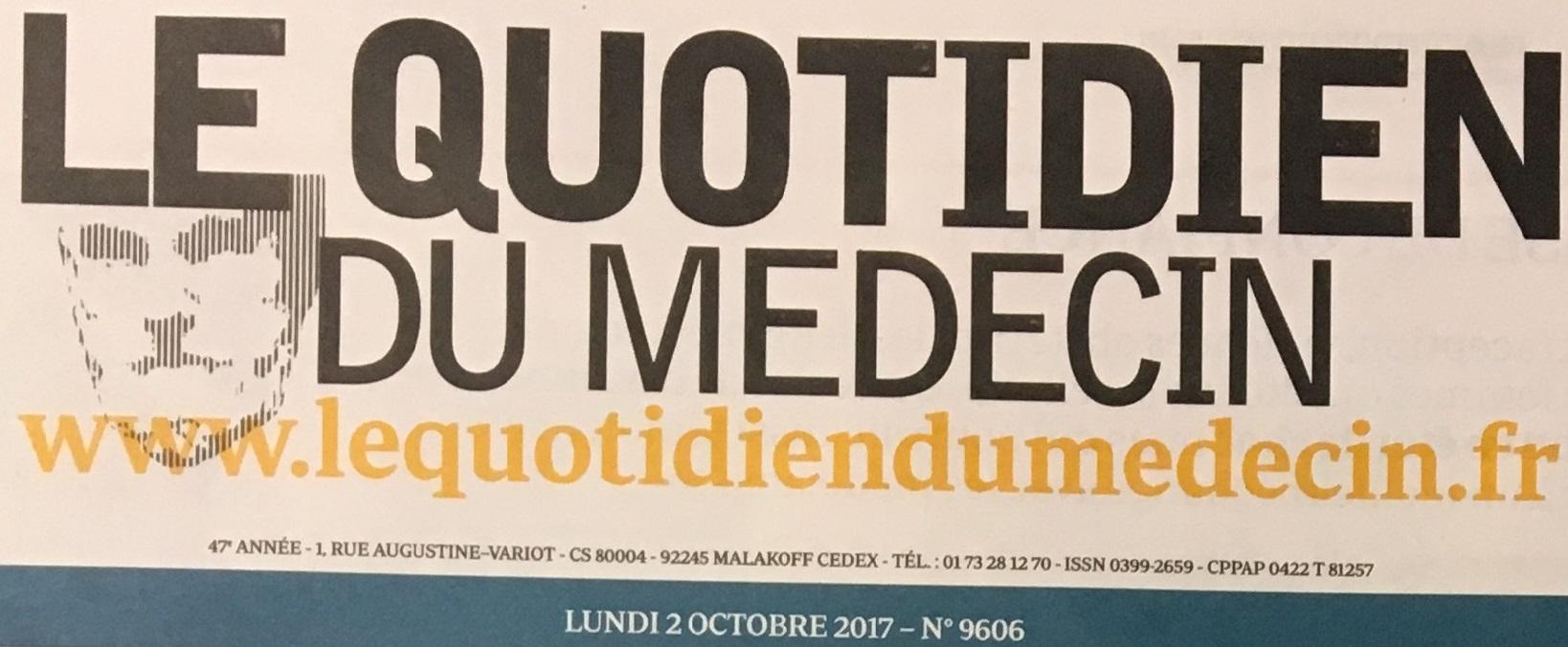 Réinsertion professionnelle, un enjeu crucial - Le Quotidien du médecin 2/10/2017